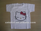 2012 new hello kitty priting kids clothing wholesale