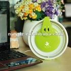 Mini LED USB multifunctional fan lamp