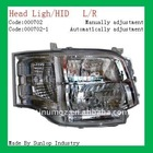 toyota hiace head light #000702 Hiace 2010 2011 toyota hiace commuter parts, HID head light hiace 2011 head lamp