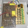 9-Channel 12V DC 10A Regulated Power Supply for CCTV System+ free shipping