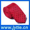 Red Fashion Pleated Tie