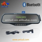 Good quality bluetooth handsfree car kit rearview mirror fcc id ALD08