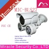 12pcs 10mm IR Led CCD Waterproof Camera MIC-BLS27