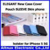 ELEGANT New Case Cover Pouch SLEEVE Skin phone holster for iPhone 5 5G CP097