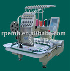 New type RP-1201 compact single head tubular embroidery machine for selling