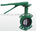 manual wafer butterfly valve