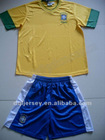 The latest 2012-2013 Brazil home thai quality soccer jersey