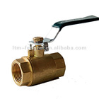 Brass fitting- ball valve -brass with nickel plated