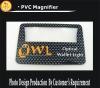 Plastic pocket credit card magnifier