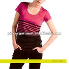 women printed t-shirt sports wear for women