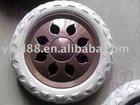 rubber wheels 6'