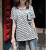 100%cotton fashion lady's shirt