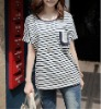 100%cotton fashion lady's shirt