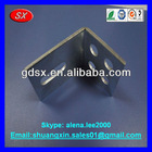 Precision cold rold steel metal Cable tension angle part,50x40x50x5mm blue zinc plated ODM/OEM China