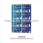 Double sided plated gold pcb