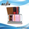 2012 new design card insert pattern leather case for samsung i9300