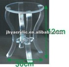 acrylic vanity chair