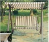 2012 high quality and fashionable folding swing chair,garden swing,outdoor swing chair,sunshine chair