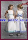 2010 new style lovely flower girl dress ff13 passed SGS certificate