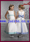 2010 new style lovely flower girl dress ff13 passed SGS certificate