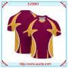 Very fashion style sublimation football uniforms SJ5061