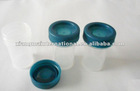 15ml plug blue cap disposable liquid bottle