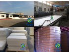 Electric power insulation ceramic fiber board