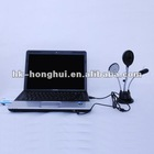 USB 14 leds night vision webcam chat with mic/fan