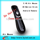 Multifunction 3D Smart Andriod 2.4G Motion Stick Remote Air Mouse