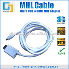 MHL Micro USB to HDMI Adapter for Samsung S2 MHL Adapter