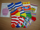 Children's fashion cotton socks