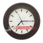 leather wall stickers clock