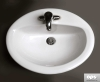 Sanitary Ware - Oval Drop-In Lavatory / Sink