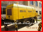 trailer concrete pump with diesel engine, CE approved