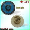 Printing with Epoxy Resin lapel pin GFT-H335