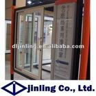 aluminium frame sliding glass window office sliding glass window