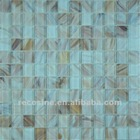 High quality China swimming pool floor Glass Mosaic