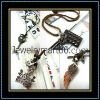 Cheap leather necklace Leather necklace ND01001