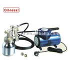 MINI AIR COMPRESSOR & LOW PRESSURE SPRAY GUN KIT