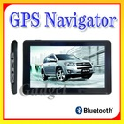 "7.0"" HD Touch Screen Car GPS Navigator Navigation FM MP3/MP4 FREE MAP With Bluetooth"
