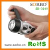 Sorbo LED Flashlight Radio with charger