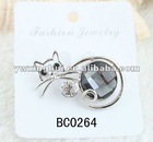 2012 Lovely Crystal Cat Brooches Wholesale