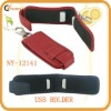 new arrival genuine leather usb holder/usb case/leather memory stick case personalized