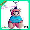 Cute Promotional Gift Pvc Bear Keychain / Kering / Keyholder