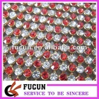 hot fix mesh rhinestone mixing color