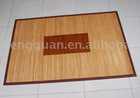 bamboo inlay rug/carpet