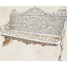 Cast Iron Bench, Garden Long Bench