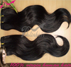 Hot Sale High Quality Body Wave Virgin Brazilain Hair Weft Accept Paypal