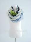 cashmere and silk printed pashmina shawl