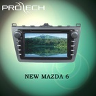 Special for NEW MAZDA 6 car dvd player GPS navigation system Bluetooth Ipod HD LCD Win CE6.0 PIP